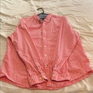 Tommy Hilfiger Long Sleeve Button Down Shirt - XL